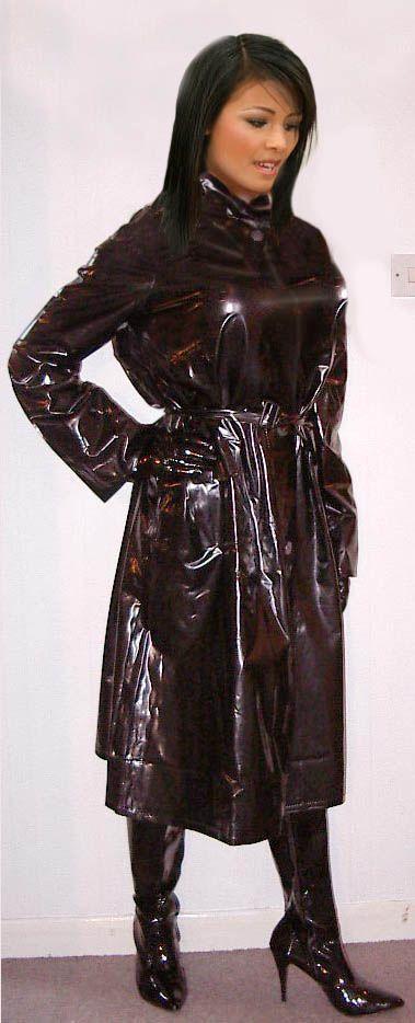 Gummi rubber latex plastic pvc rainwear