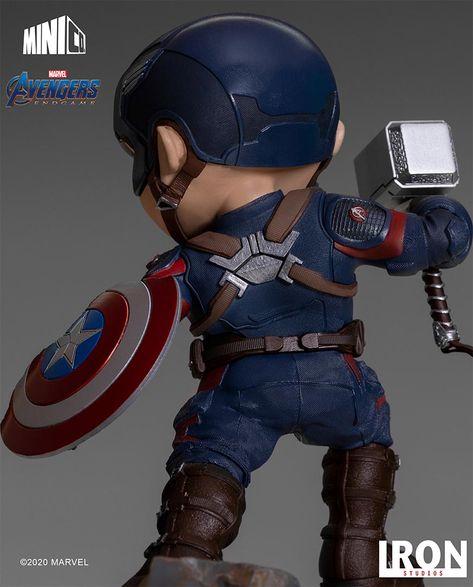 IRON STUDIOS MiniCo Captain America - Avengers Endgame