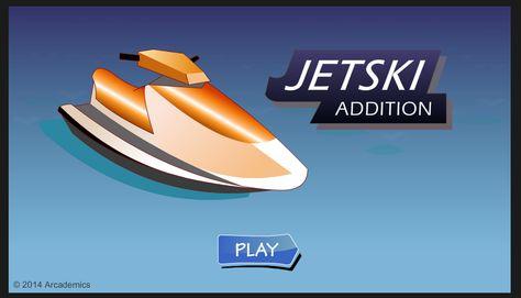 Juego rápido de sumas fáciles. http://www.arcademicskillbuilders.com/games/jetski/jetski.html