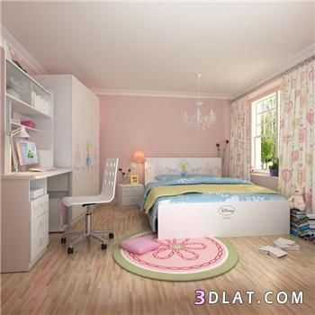 بالصور بنات بينك جميله ديكورات صور غرف للبنات نوم Girls Room Wallpaper Home Decor Room