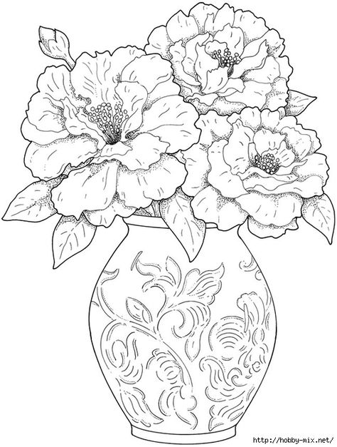 flowercoloringpages 1001 coloringpages plants flowers flowers coloring page for the home pinterest sunflowers embroidery and flowers