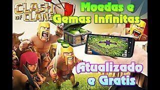Clash Of Clans Hack 2019 Tudoooo Infinito Ouro Gemas Elixir