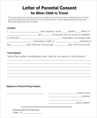 Amp Pinterest In Action Child Travel Consent Form Travel Consent Form Travel Consent Letter