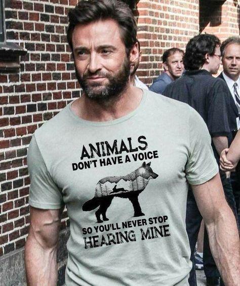 I LOVE Hugh Jackman!  This just makes him even better!!!!!!!!