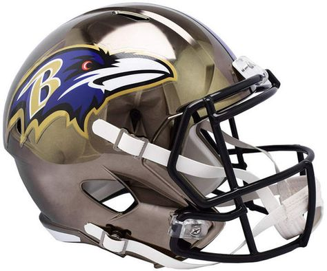 54f4dbbcaac09 Riddell Baltimore Ravens Speed Chrome Alt Replica Helmet   Reviews - Sports  Fan Shop By Lids - Men - Macy s
