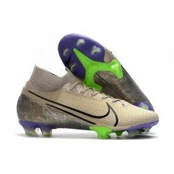 Nike Mercurial Superfly 7 Elite Fg New Cleat Desert Sand In 2020 Nike Football Boots Cleats Superfly