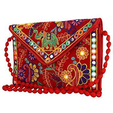 |Bohemian Style Hippie Handbags||Shoulder bags Suvasana Indian Handicraft Rajasthani Jaipur Bohemian art Sling Bag