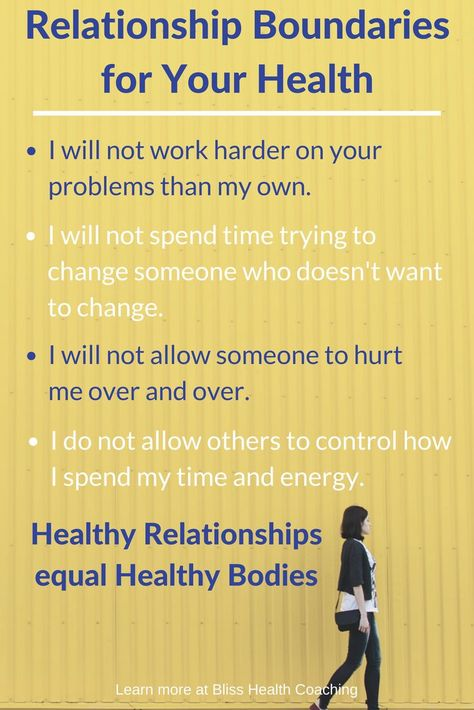 How To Set Boundaries In a Relationship - For Your Health