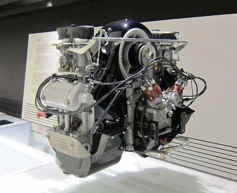 A quad,cam dream Porsche motor.