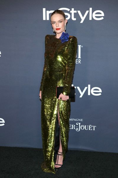 Kate Bosworth at the 2017 InStyle Awards presented in partnership with FIJI WaterAssignment at The Getty Center on October 23, 2017 in Los Angeles, California. - 1 of 7