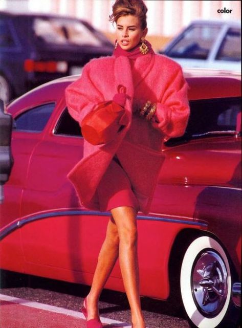 US VOGUE September 1990 Nikki Taylor by Patrick Demarchelier and Carlyne Cerf de Dudzeele