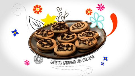 Garabato or Scribbles Cookies : Pati's Mexican Table