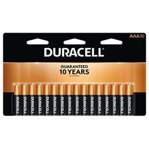 Duracell Coppertop Aaa Alkaline Batteries 16 Pack Duracell Alkaline Battery Duracell Batteries