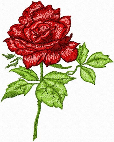 Free Machine Embroidery Designs   free Rose machine embroidery design - News - Free machine embroidery ...