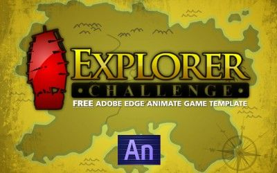 Free Elearning Game Template For Edge Animate The Wilders