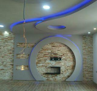 ديكور جبس للشاشه جبس بورد ديكورات جبس جبس ديكورات شاشات بلازما على الحائط Home Decor Pop Design Modern Decor