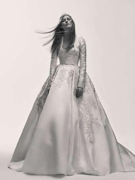 vestidos de novia elie saab: fotos colección 2017 - vestido de