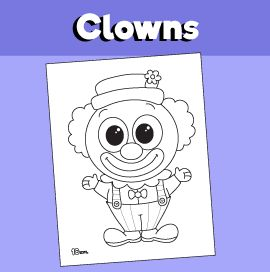 Paper Clown Mask Printable Zebra Coloring Pages Snake Coloring