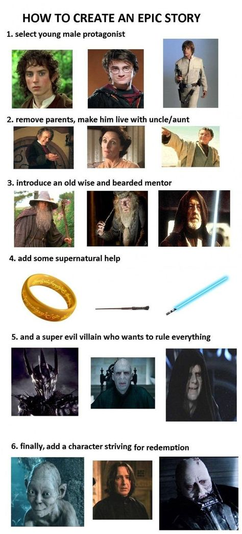 How To Create An Epic Story? Easy peasy!