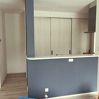 キッチン シンプルライフを目指す かくせる収納 キッチン背面収納 初