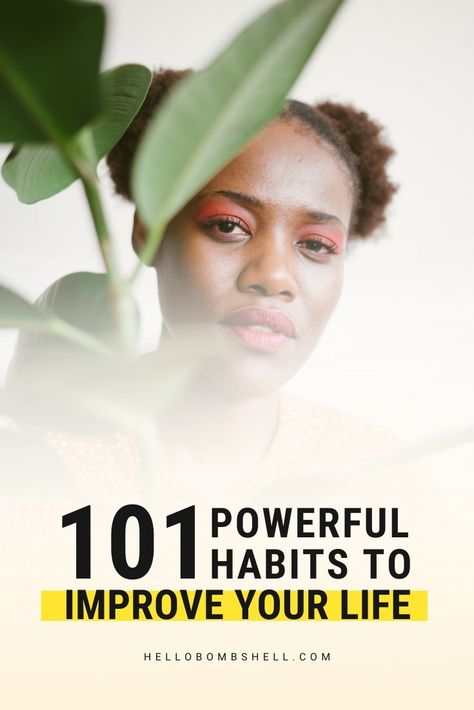 Good habits to start for women for self improvement & better life. Improve life & become a better person. Develop healthy habits & break bad habits, fast. Self help tips, life hacks, personal development, goals, personal growth, self improvement, motivation, challenge, self esteem, confidence & wellness. Habit tracker, habit ideas, habits list, morning routine, habits of successful people and mental health. #lifehacks #habits #goals #motivation #mindset #personaldevelopment #selflove #selfcare