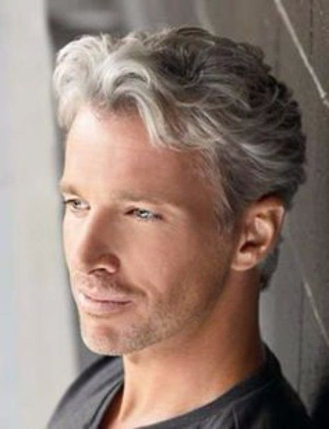 45 Hairstyles That Are Great For Middle Aged Men Wavy Hair Men Grey Hair Men Older Mens Hairstyles