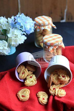 Resep Kue Semprit Garing Pecah Di Mulut Kue Makanan Dan Minuman Resep Kue