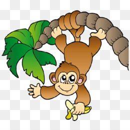Download And Share Monkeys Clipart Climb Monkey Cartoon Cartoon Seach More Similar Free Transparent Clipa Cute Baby Monkey Baby Art Projects Monkey Drawing