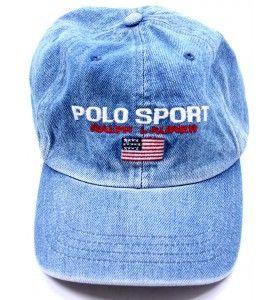 Vintage Polo Ralph Lauren Denim Hat - Gents  ade76491a9b