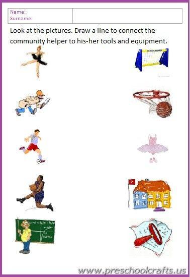 Community Helpers Printable Worksheets For Kids Preschool And Kindergarten Kids Worksheets Printables Worksheets For Kids Community Helpers Community helpers worksheets for kindergarten