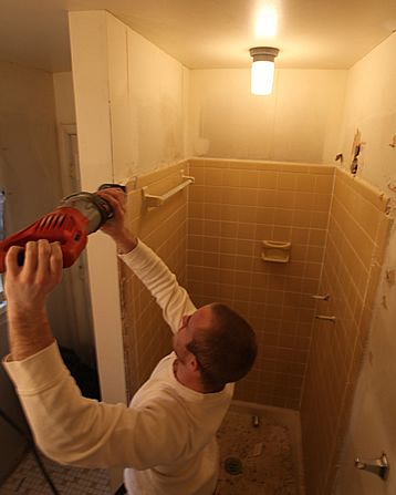 Easier way to demo tile cut and remove instead of busting it up easier way to demo tile cut and remove instead of busting it upthroom shower tile removing diy bathroom design ideas pinterest bath and house solutioingenieria Image collections