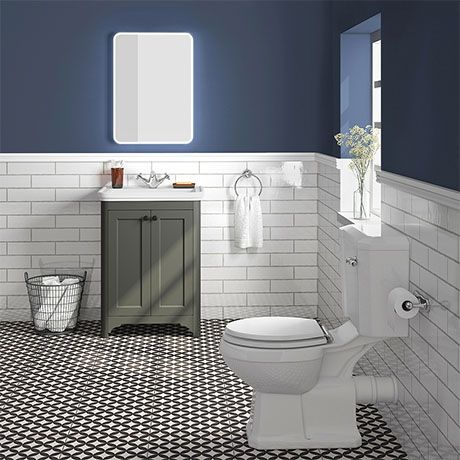 Bromley Grey Traditional Vanity Unit Toilet Suite Victorian Plumbing Uk Traditional Vanity Units White Toilet Seats Vanity Units