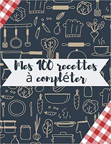 carnet livre et cahier de cuisine