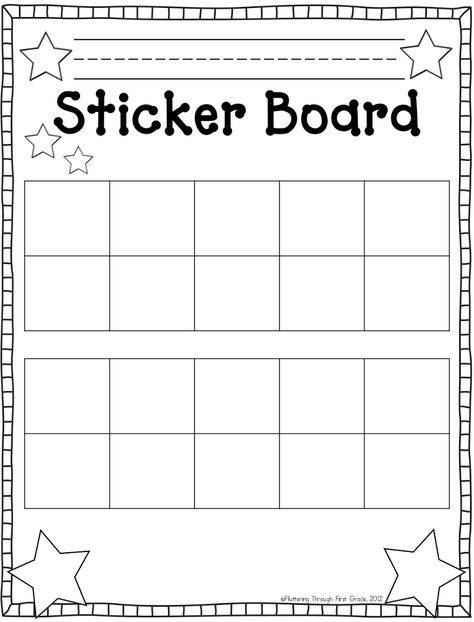 photograph relating to Sticker Chart Printable Pdf identify Pinterest