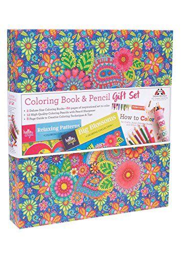Hello Angel Coloring Book Pencil Gift Set Https Coloringbookgoodies Com Product Hello Angel C Coloring Book Gift Set Coloring Books Gifts Coloring Book Set