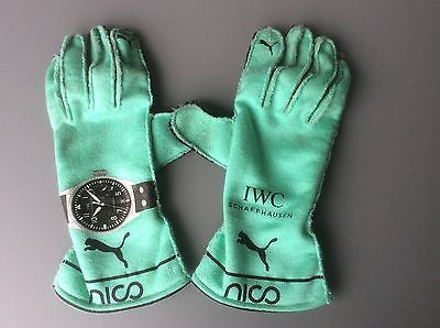 2016 used pair of #mercedes gp #gloves from nico #rosberg - look !!!, View more…