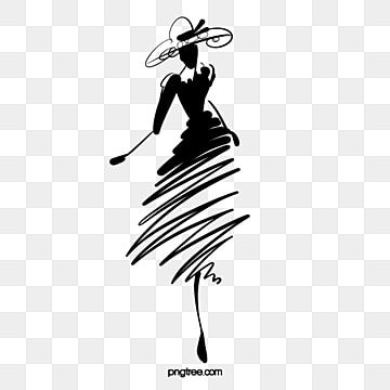 Hand Drawn Minimalist Abstract Fashion Woman Hat Fashion Black Hand Painted Png Transparent Clipart Image And Psd File For Free Download Women Hats Fashion Minimalist Women Fashion Logo