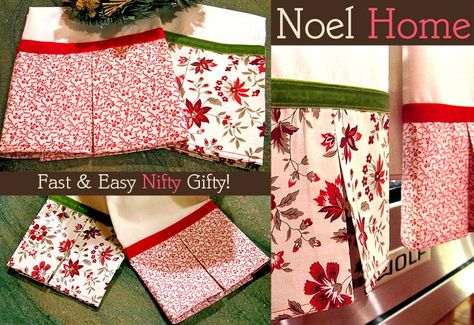 Noel Home: Simply Sweet Tea Towels