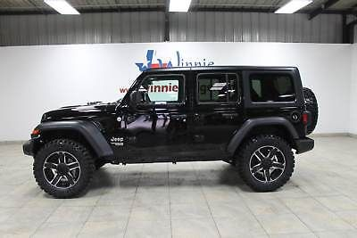 Ebay 2018 Jeep Wrangler Unlimited Sport S 4x4 Lifted All New Designed Jl Wrangler Alpine Ha 2018 Jeep Wrangler Unlimited Jeep Wrangler Unlimited Jeep Wrangler
