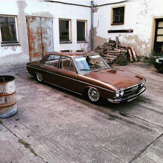 Audi 100 C1 1968 1976 The C1 Platform Spawned Several Variants
