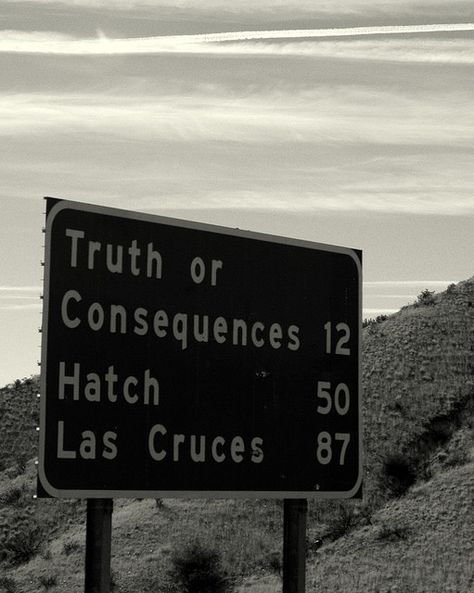 Passing Truth or Consequences to Hatch in New Mexico