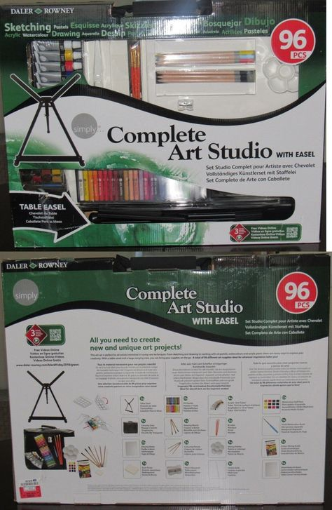 Other Drawing Supplies 11784 New Complete Art Studio With