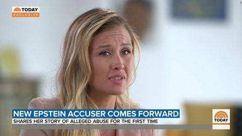 New Jeffrey Epstein accuser Jennifer Araoz comes forward on 'Today Show' - CNN Video