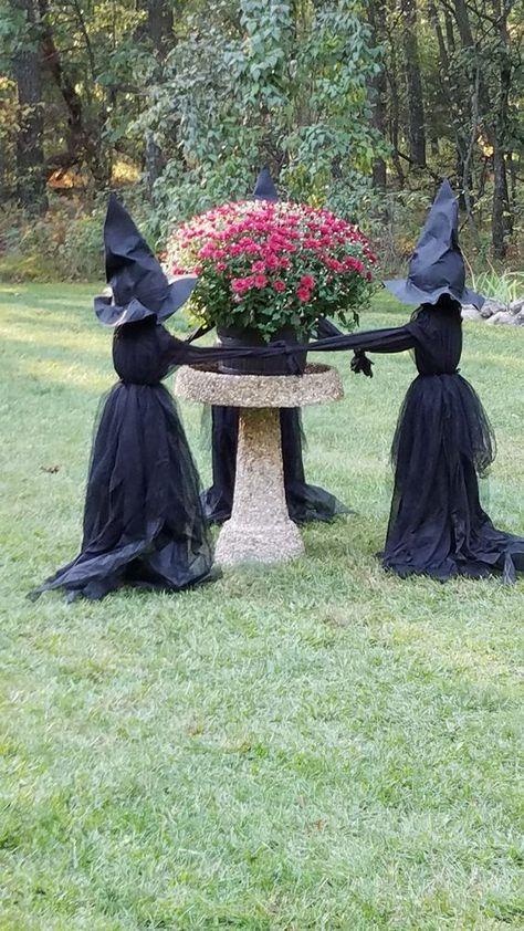 Carolilly 2020 Neue Halloween Hexenhut aus hochwertiger Wollmischung Modisch Stylisch Fashion Party Einfarbigen Hut Frau M/ädchen Baby Fr/ühling Herbst Winter
