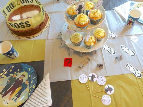 DIE DREI FRAGEZEICHEN ?? KIDS Geschirr Party Deko Kindergeburtstag Detektive