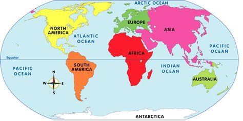 a North America b Antarctica c California d Africa WEATHER