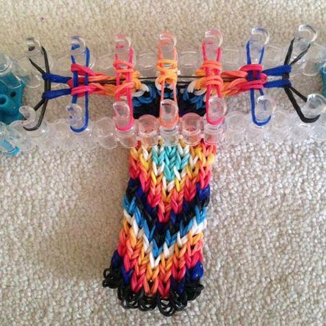 How to Make a Rainbow Loom Bracelet from an Alpha Tutorial