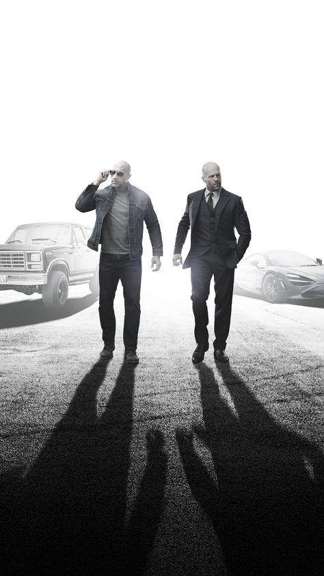 Fast & Furious Presents: Hobbs & Shaw, Dwayne Johnson, Jason Statham, 1440x2560 wallpaper