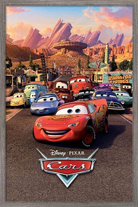 Trends International Disney Pixar Cars - One Sheet Wall Poster, 22.375
