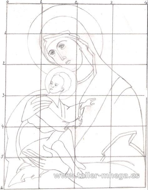 Taller de Iconografía Mhega |   El dibujo